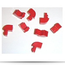 Buy Building Accessories 1 X 1 X 1 Red Brick