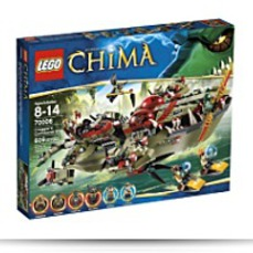 Chima Cragger Command Ship 70006
