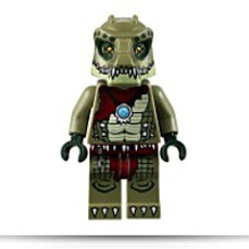 Chima Crawley Minifigure