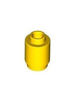 Building Accessories 1 X 1 Yellow Round